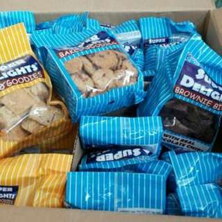 Super Delights (Brownies, Butterscotch, & Choco Chips)