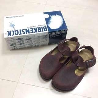 女勃肯鞋、包鞋、BIRKENSTOCK、鞋號39