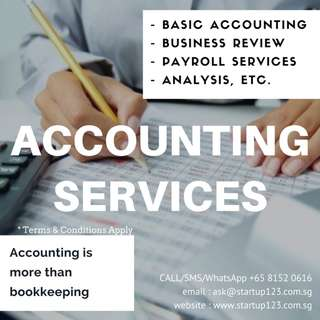 Bookkeeping/CPF submission/Accounting/etc