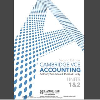 Cambridge accounting 1/2 PDF file