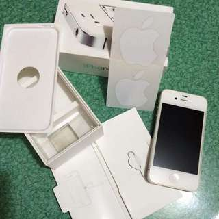 iPhone 4s (White) 8gb Smart locked
