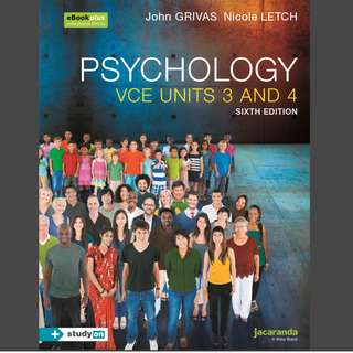 Jacaranda Psychology 3/4 PDF file