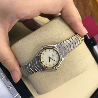 Ebel  Half Gold Lady Diamond
