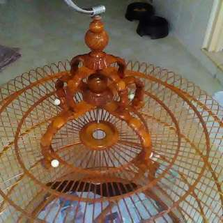 Shama Gd Condition Cage With Detachable Crown