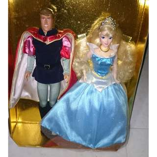 Disney Special 40th Anniversary Edition Sleeping Beauty and Prince Phillip