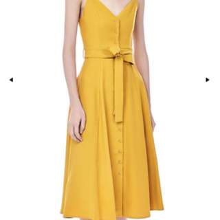 The Editors Market - Yellow Dress