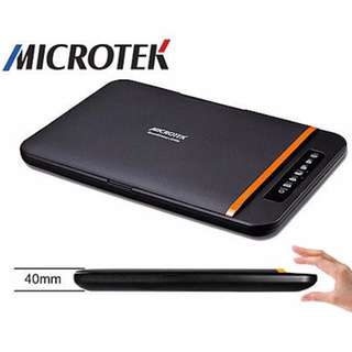 吉米3C【宅配免運費】全友Microtek ScanMaker i2400超輕薄掃描器☆USB供電、原廠一年到府