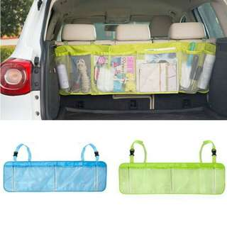 CAR BACKSEAT ORGANIZER LARGE POUCH | STORAGE PENYIMPANAN MOBIL