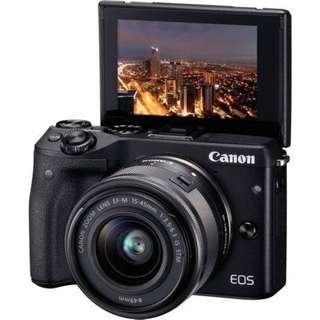 (new)canon eos M3