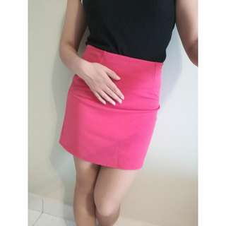 [NEW] A Line Mini Skirt