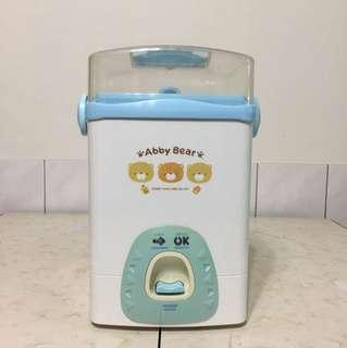 🚚 艾比熊(Abby bear)蒸氣奶瓶消毒鍋