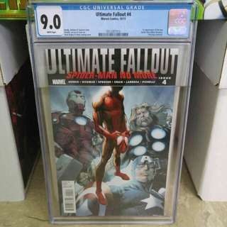 Ultimate Fallout #4 CGC 9.0 - Marvel Comics