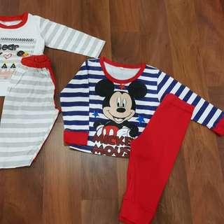Baby cotton Pyjamas -both rm15