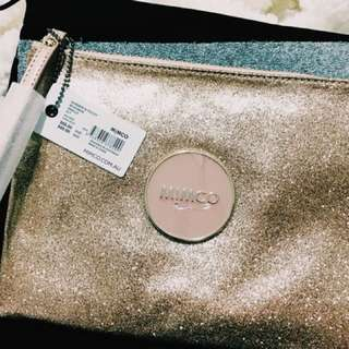 MIMCO glitter mid pouch