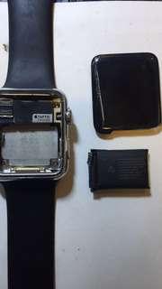 Apple watch爆玻璃 無顯示現貨更換 一,二,三代