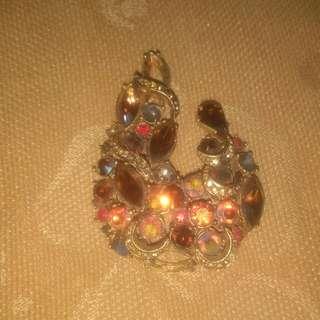 Antique brooch pin