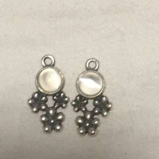 Genuine Pandora compose earrings
