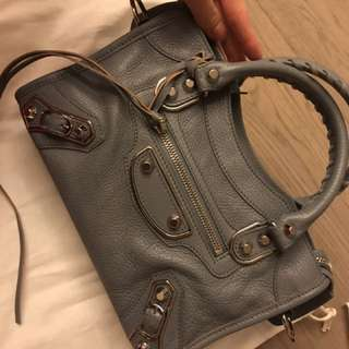Balenciaga mini grey colour
