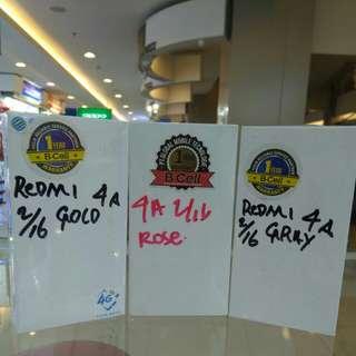 Xioami Redmi 4A 2/16 Gold Gray Rosegold