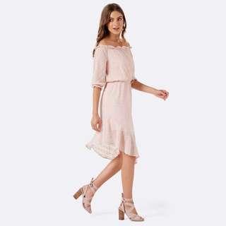 Forever new off shoulder dress