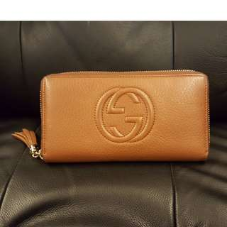 100% Authentic GUCCI Leather Women's Wallet