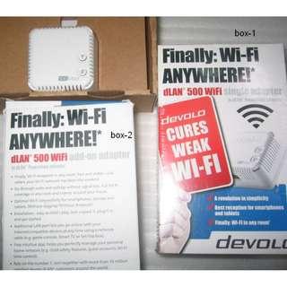 Devolo dLan 500 Wifi (Homeplug AV)