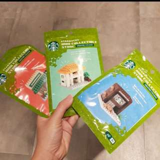 Starbucks nano bricks set 12$ each