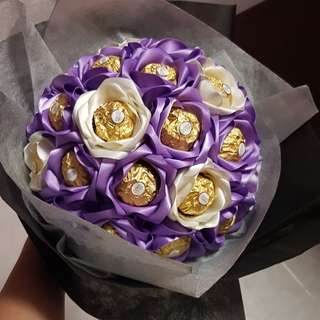 Valentine's day Ferrero Chocolate Bouquet