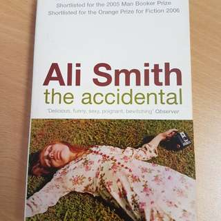 Ali Smith The Accidental Booker Prize Winner