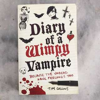 Novel Diary of a Wimpy Vampire