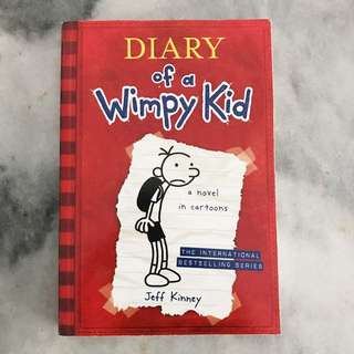Novel Diary of a Wimpy Kid