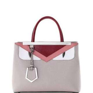 Fendi 2Jours Leather handbag