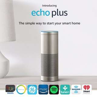 [BNIB] Echo Plus with built-in Hub – Silver