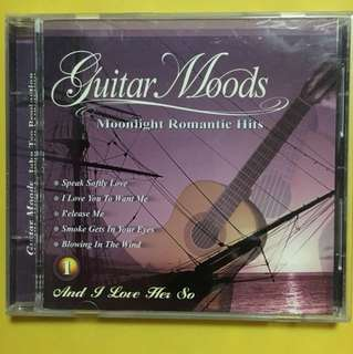 Guitar Moods Cd - Moonlight Romantic Hits