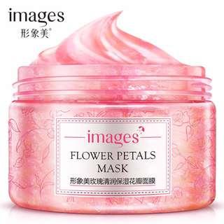 IMAGES Rose Fresh Flower Petals Mask #20under