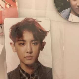 EXO Chanyeol photocard