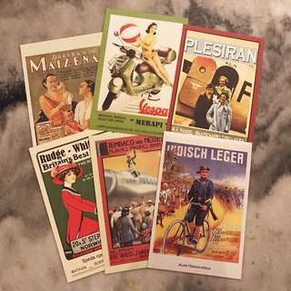 Vintage Postcards (Harga Take All)