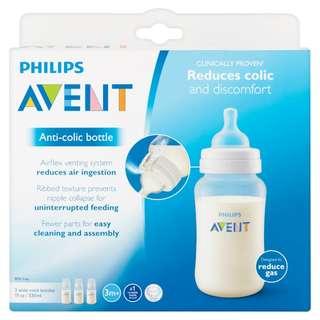Avent anti-collic bottle