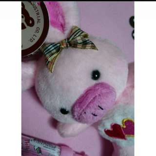 🚚 😘豬豬兔子可愛鑰匙圈🎊