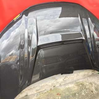 HOOD AKANA CARBON HONDA CITY GM6