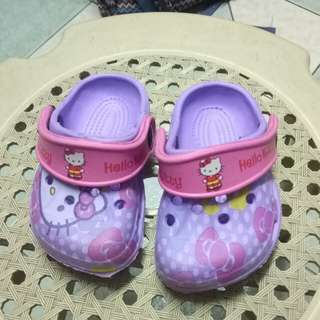 Hello Kitty crocs like slipper