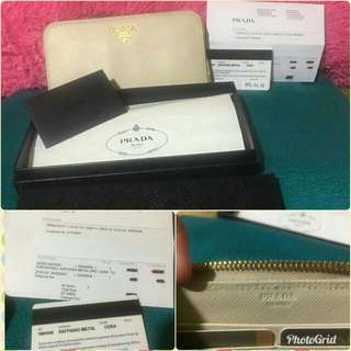 (Reserved) Authentic Prada Wallet