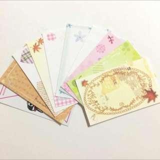 小卡片 便條紙