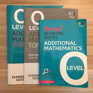 Additional Mathematics O Level TYS Set