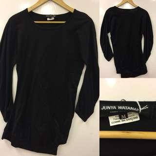 Comme des garçons black sweater top size M