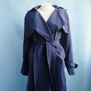 deep blue coat