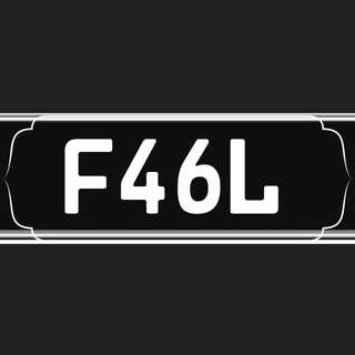 Number Plate Motorcycle