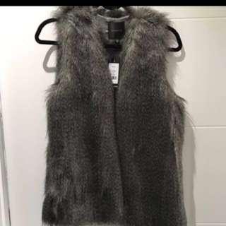 Dynamite Faux Fur Vest #blackfriday50