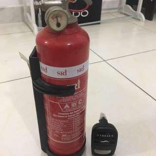 fire extinguisher / pemandam api for car