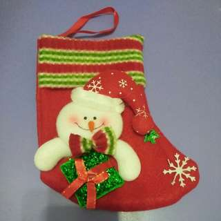 Christmas Xmas Goodies Hanging Socks
